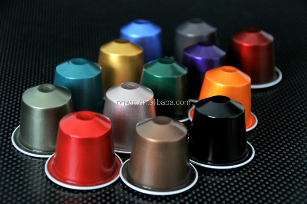 37mm Nespresso aluminum capsule for wholesale