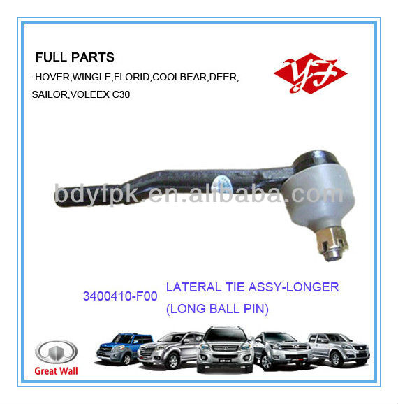 3400410-F00 for Great wall Safe Long Joint Ball Pin