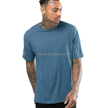 Plus Size xxxl Clothing Wholesale Cheap Organic Cotton High Quality Short Sleeve Blue Oversized Men T Shirts