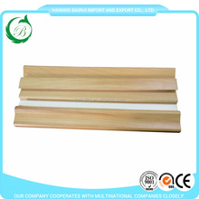 Hot sale wooden design pvc skirting board for middle east market