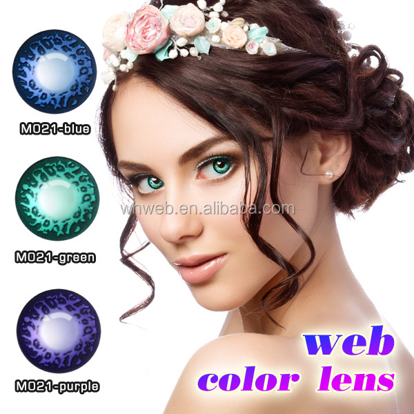 2017 doll Eye Contact cosmetics Lens best selling color diamond contact lens diamond