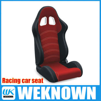 PVC leather or Fabric Adjustable Racing Car Seat/Sport Seat