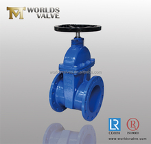 JIS standard resilient seated non rising stem gate valve