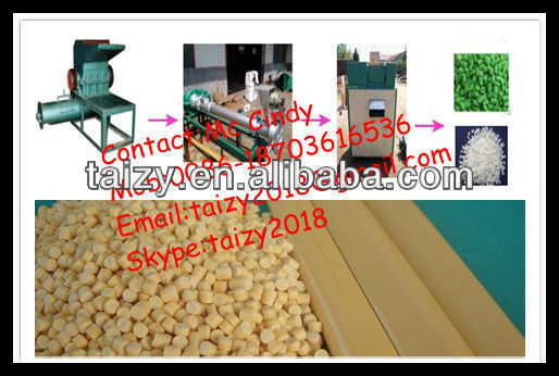 Goodfeedback PVC film extruding machine/plastic granulator production line with low price0086-15838061759
