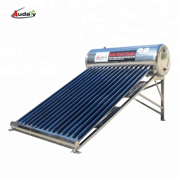 rooftop low pressure domestic solar water heater