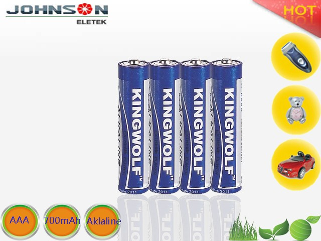 1.5v AAA size continuance Alkaline single-use cell battery