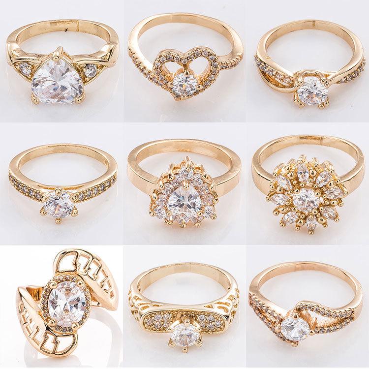 Fashionable Costume Diamond Gemstone 1 Gram 14k White Gold