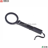 Factory Price Super Wand md-300 Security Metal Detector Wand , Hand Held Metal Detect