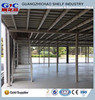 Cold Rolled Steel Economy Safety Mezzanine Floor Rack