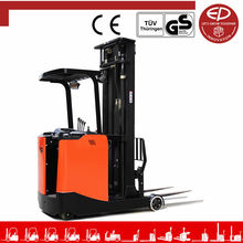 EP High Quality 1.5 Ton Stand On Reach Truck Reach Forklift Reach Stacker For Sale Price