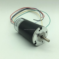 42mm 24v brushless dc motor with controller integrated, to replace dunker GR42 brushed motor