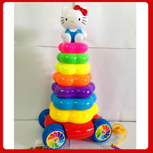 Plastic throwing ring toy KT Educational Toys