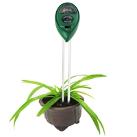 Wholesale 3 in 1 Plant Flowers Soil Meter (PH Moisture Light)(Green)