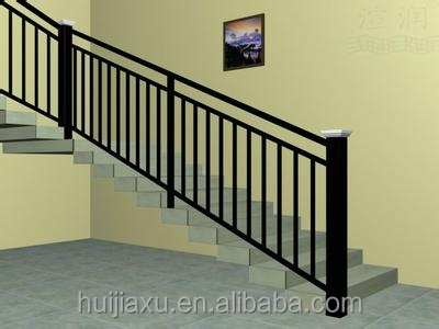 Aluminum stainless steel staircases handrails design for stairs