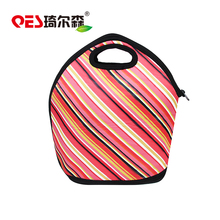 Manufacturer wholesale design party carrier gift wine cooling holder insulated travel neoprene bottle wine tote bags