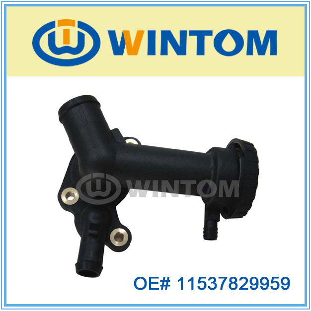 temperature sensor/thermostat housing for auto spare parts,11537829959
