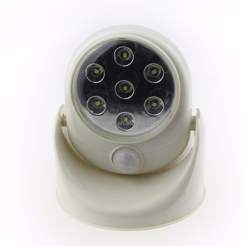 Light Angel Motion Activated Sensor LED Night Light As Seen Cordless Wireless Stick Up Outdoor