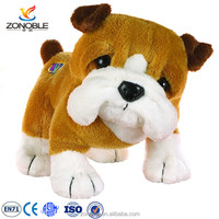 2016 hot selling french bulldog soft toy plush big mouth walking dog cute chindren toy stuffed animal bulldog