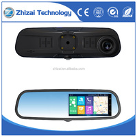 5.0 ultra wide diaplay rear view mirror car dvr ,smart video camera, car recorder