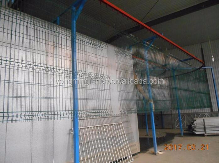 Welded wire mesh fence panel/Betafence Nylofor 3D panels
