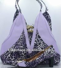 2012 hot party handbag and shoe
