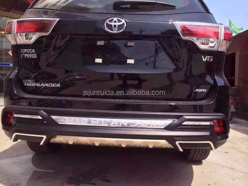 front bumper 2015 toyota highlander bumper guard buy. Black Bedroom Furniture Sets. Home Design Ideas