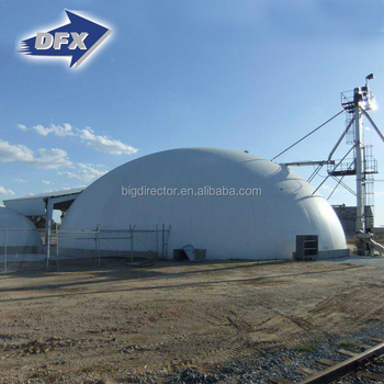 Space Frame Prefabricated Light Steel Structure Storage Buildings Dome Houses