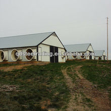 light steel structure prefab broiler house