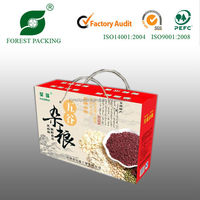 2014 NEWEST ECO-FRIENDLY WHOLESALE WAX COATED PAPER FOOD BOX