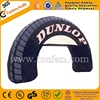 Customized inflatable tire arch good price F5018