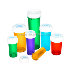 Assorted Colors Reversible Cap Vial 30 Dram