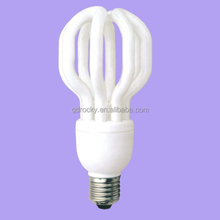 Factory price ! 4U Lotus Energy Saving Lamp E27/B22 3000hrs/6000hrs 65w/85w/105w 14mm CE&COC