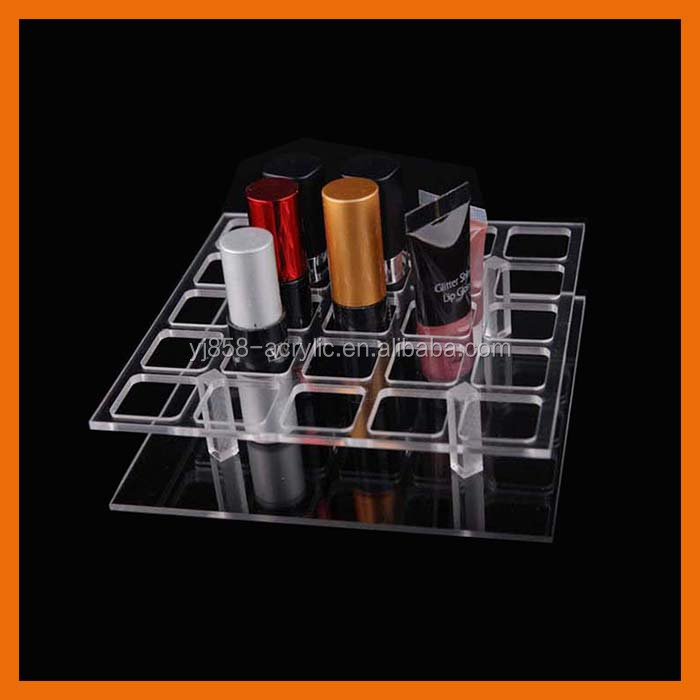 Cheap OEM ODM custom Acrylic Lip Gloss Holder