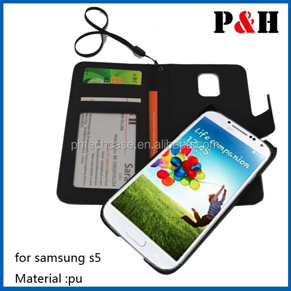 Factory tpu Leather cellphone Case for Samsung S4,magnetic cross pattern card holder leather case for samsung