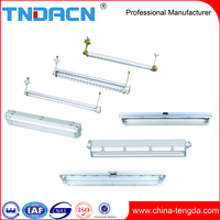 Explosion proof lighting fixture fluorescent light fixture