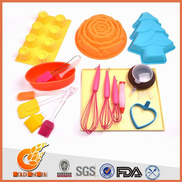 Latest technology silicone+moldes dos doces(GIS14203)