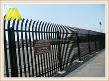 security fence powder coated anti climb security fence