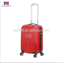 Decent ABS PC Trolley Korea Travel Luggage Bags With 4 Universal Wheels