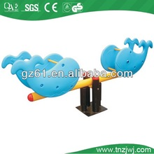 kids outdoor playground plastic seesaw