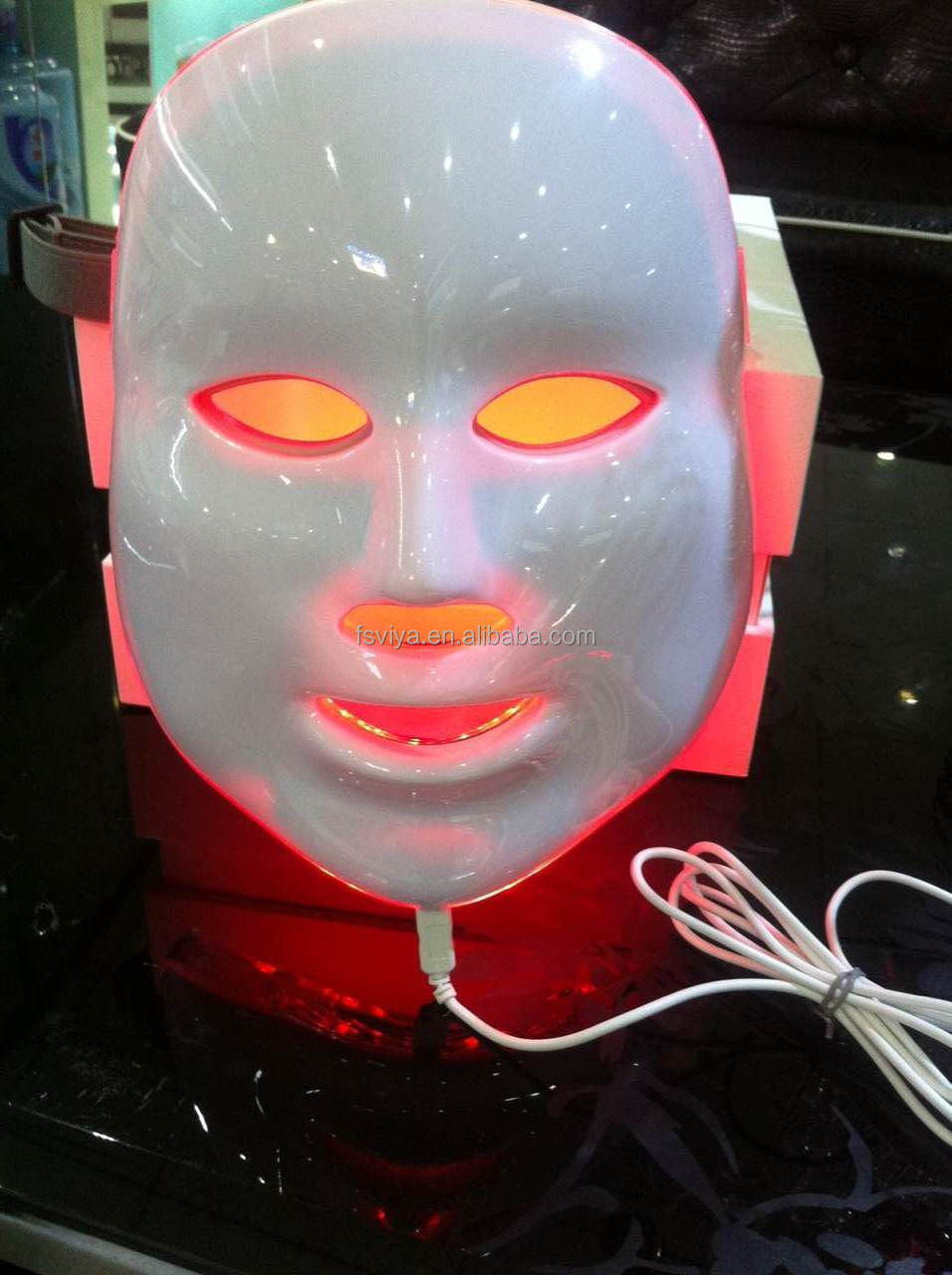 Factory Phototherapy Skin Rejuvenation LED facial Mask