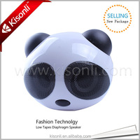 Wholesale Computer Accessories China Gift Cheap Sepaker Stands Panda Design