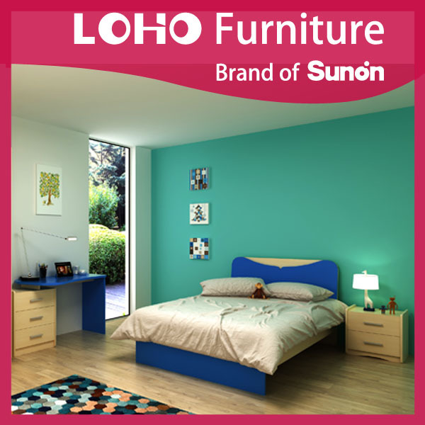 2016 Hot-sale E1 PB Smart Kids Children Bedroom Furniture