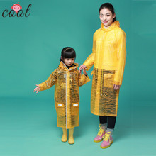 Wholesale cheap fashion funky raincoats for women hood and pocket