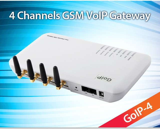 best price 4 port goip firmware update with imei change low cost and voip softswich