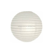 white color Chinese round paper lantern for wedding decoration
