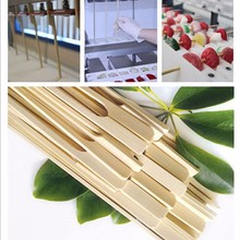 100pcs moso bamboo teppo square skewers(bbq) with custom logo
