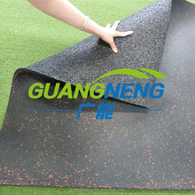 8mm EPDM Rubber Roll Gym Flooring Tiles