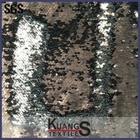 gold silver sequin fabric