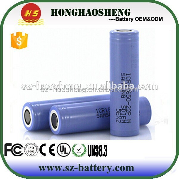 High temperature nimh battery 3.7v 18650 li-ion rechargeable battery 2800mah for Samsung ICR18650 28A 2800mah