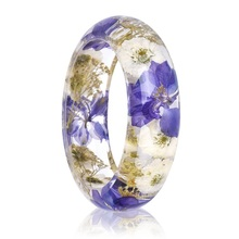 NX-13 China Glass Flower Bangles Manufacturers Wholesale 2017 Luxury Bracelets Bangles For Women